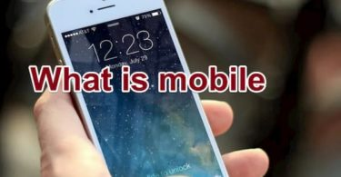 What is mobile